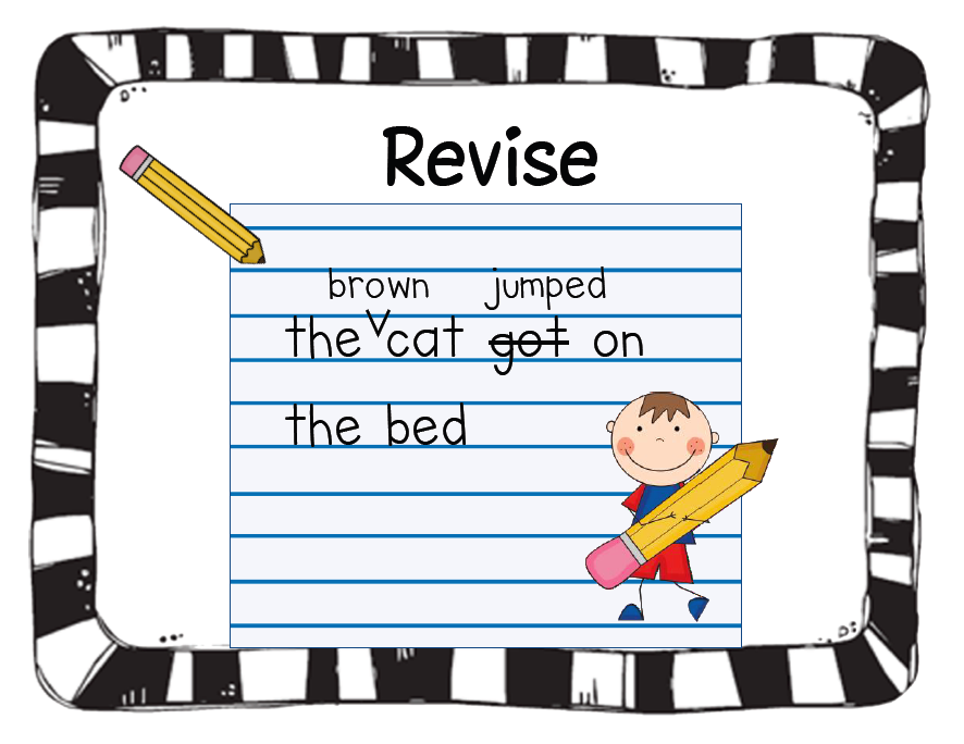 The Writing Process Step 3 Revising Tlnet Kids